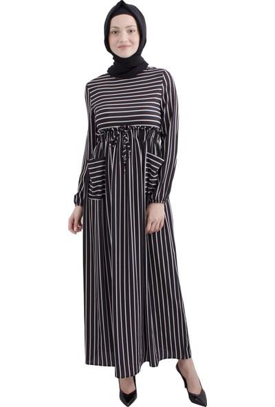 Arda New Line Siyah Elbise 3561435-10.01