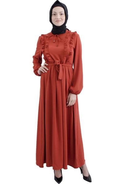 Arda New Line Kiremit Elbise 3561794-10.48