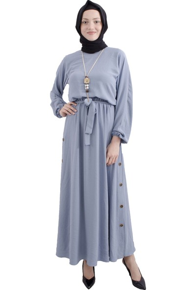 Arda New Line Mavı Elbise 3561843-10.16