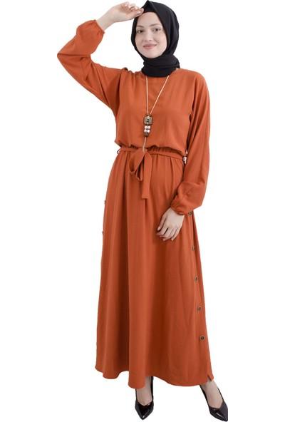 Arda New Line Kiremıt Elbise 3561843-10.48