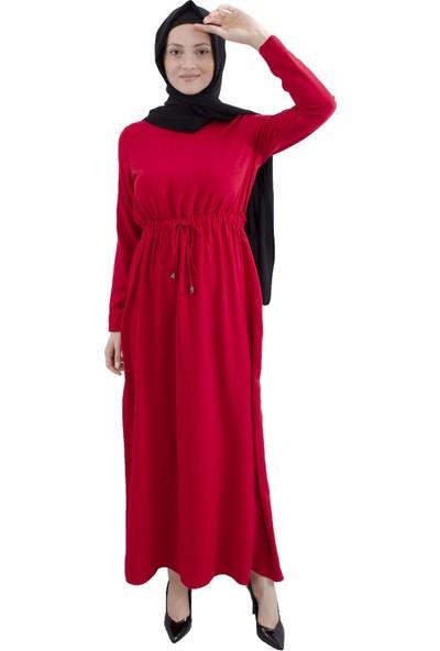 Arda New Line Kırmızı Elbise 7709178-10.08