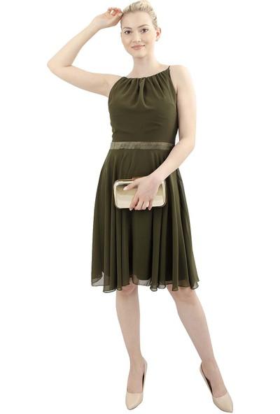 Arda New Line Kadın Haki Elbise 9704530-10.23