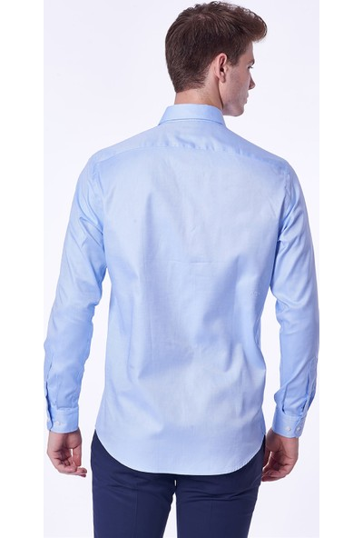 Dufy Erkek Klasik Gömlek Slim Fit