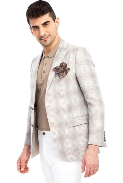 Kiğılı Ekose Ceket