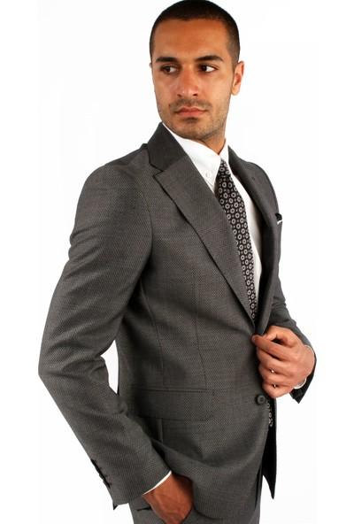 Dufy Erkek Armür Takım Elbise Galvin Sn Slimfit