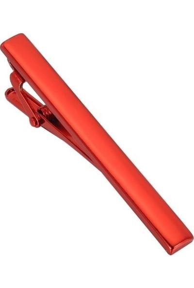 Ocean Pole Kırmızı Kravat Iğnesi