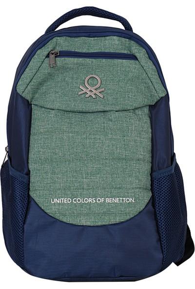 United Colors Of Benetton 96049 Sırt Çantası Yeşil Mavi