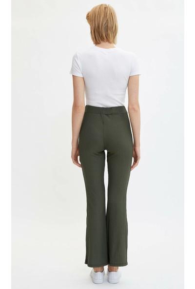 Defacto Kadın Flare Fit Pantolon