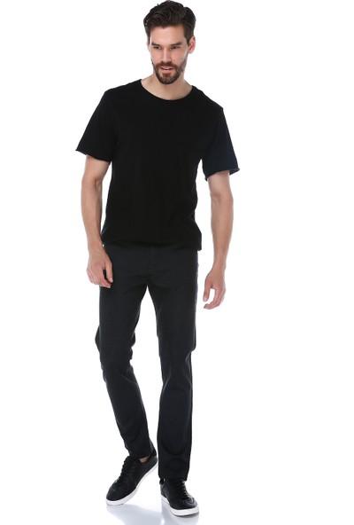 Manche Siyah Justin Pantolon | Mep 0115