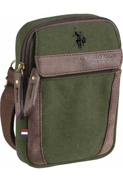 U.S. Polo Assn. Çapraz Çanta Plevrc7133 Haki