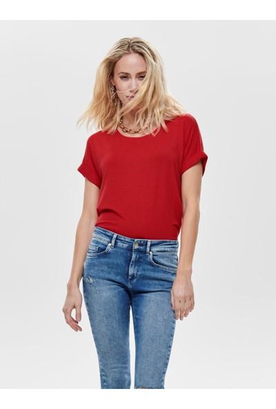 Only Kadın O Yaka T-Shirt 15106662