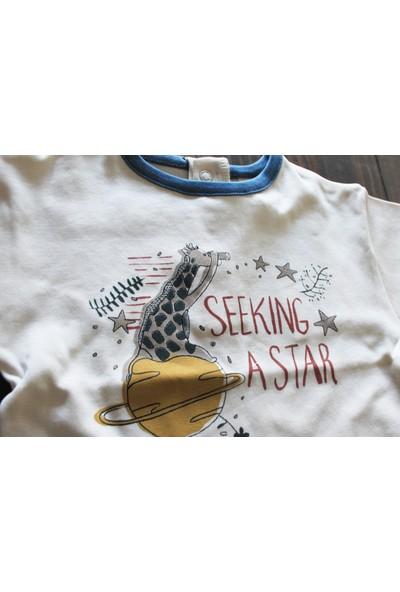 Auntie Me Ekru Seeking A Star Kısa Kollu T-Shirt