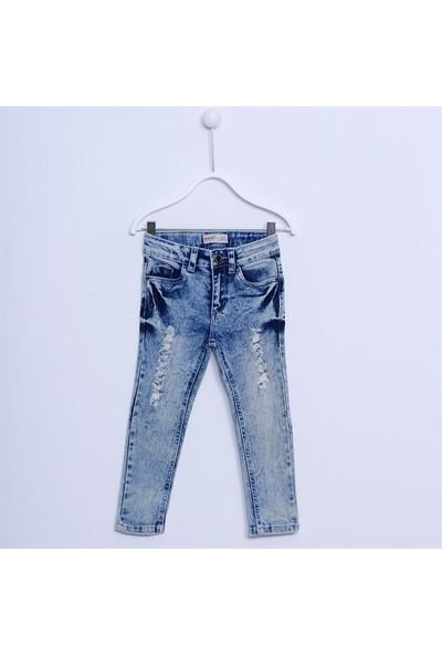 Silversun Kız Çocuk Denim Pantolon Kot Pantolon PC 211916