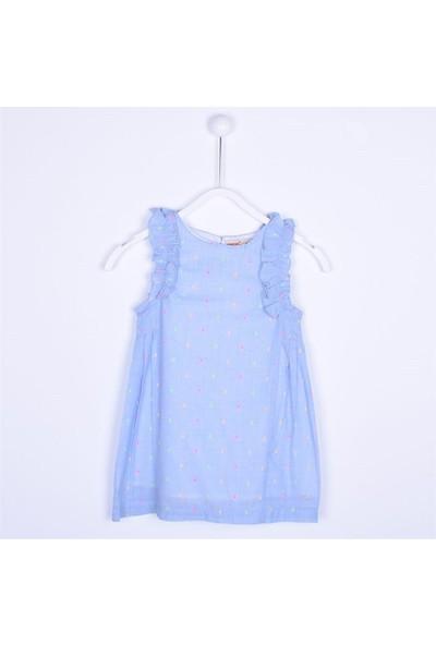 Silversun Kız Çocuk Kolsuz Elbise EK 212123