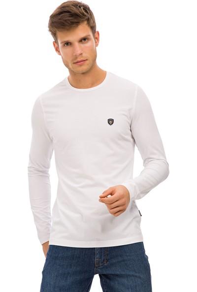 Galvanni Erkek Beyaz Sweatshirt Uzun Kol - Alban