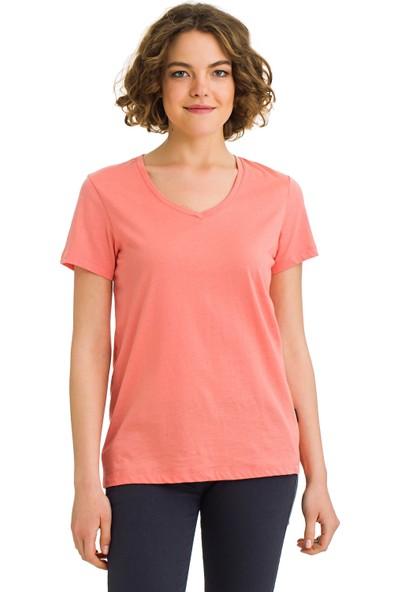 Galvanni Kadın Mercan T-Shirt - Emerald