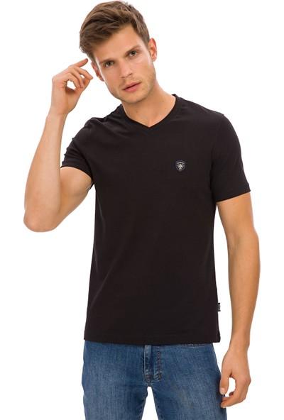 Galvanni Erkek Siyah T-Shirt - Prim