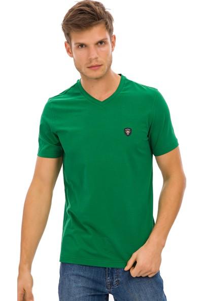 Galvanni Erkek Yeşil T-Shirt - Prim