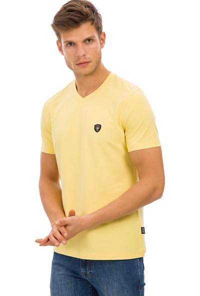 Galvanni Erkek Sarı T-Shirt - Prim