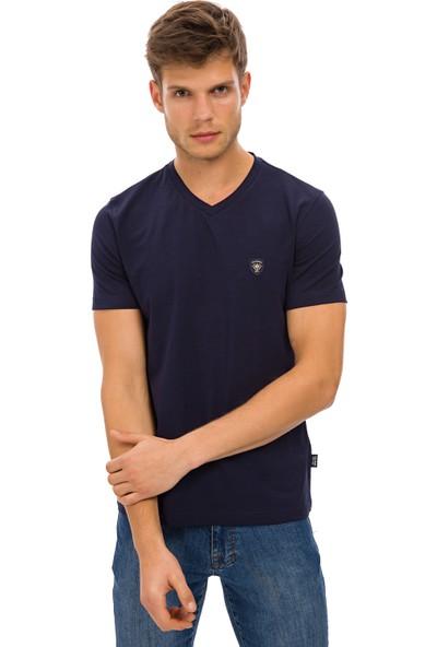Galvanni Erkek Lacivert T-Shirt - Prim