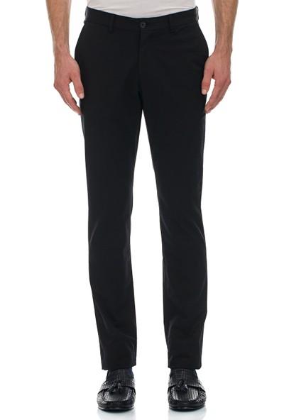 Galvanni Erkek Slim Fit Siyah Pantolon - Sercie