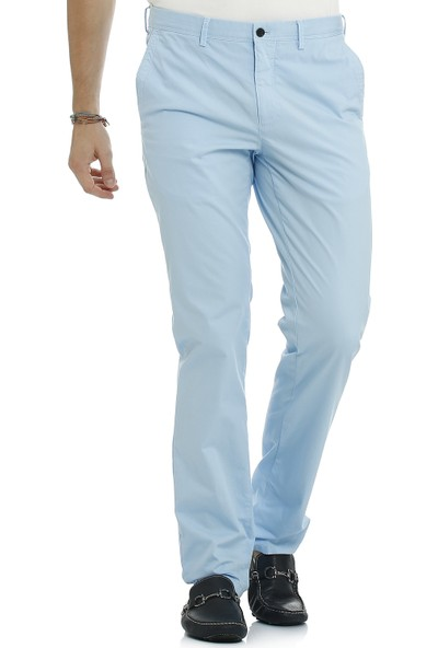 Galvanni Erkek Slim Fit Mavi Pantolon - Thornee