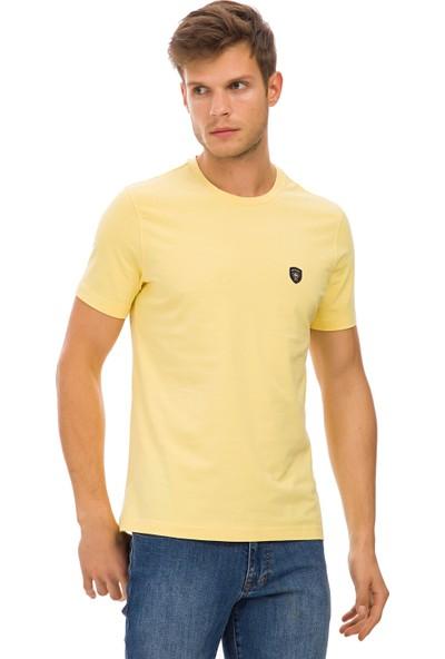 Galvanni Erkek Sarı T-Shirt - Wawe