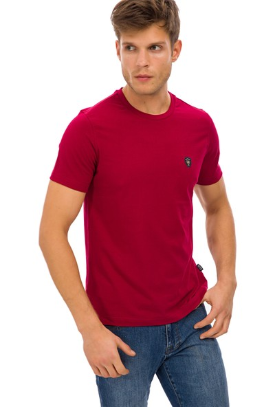 Galvanni Erkek Kırmızı T-Shirt - Wawe
