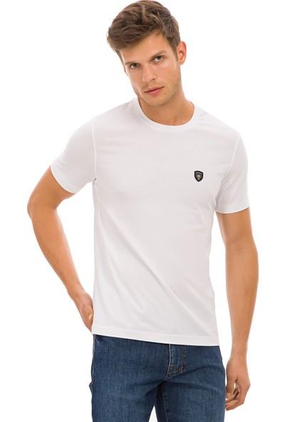 Galvanni Erkek Beyaz T-Shirt - Wawe