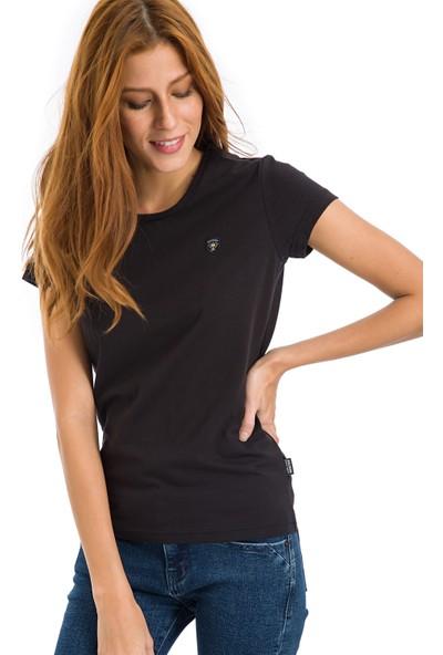 Galvanni Kadın Siyah T-Shirt - Coventry
