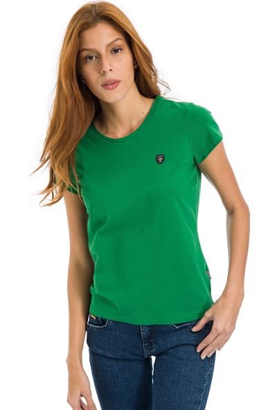 Galvanni Kadın Yeşil T-Shirt - Coventry