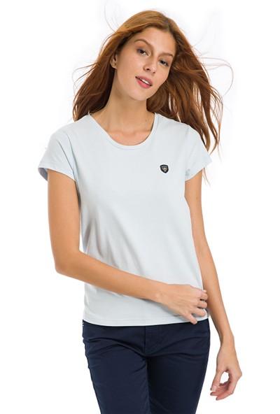 Galvanni Kadın Açık mavi T-Shirt - Coventry