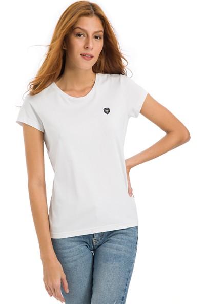 Galvanni Kadın Beyaz T-Shirt - Coventry