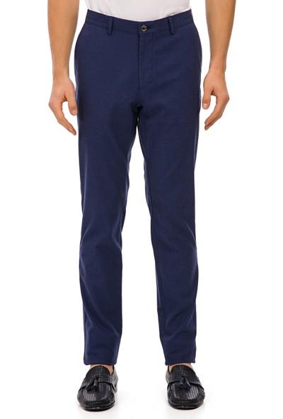 Galvanni Erkek Slim Fit Mavi Pantolon - Pro