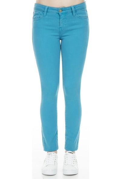 Acquaverde Jeans Kadın Kot Pantolon Scarlet
