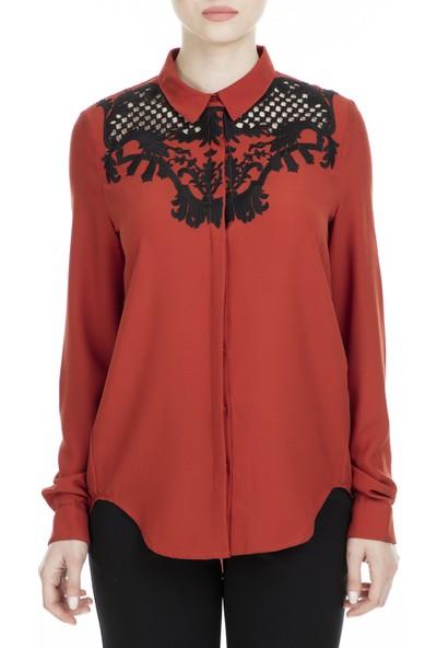 Hotel Partıculıer Gömlek Kadın Uk Gömlek Hp W13 Tl 06