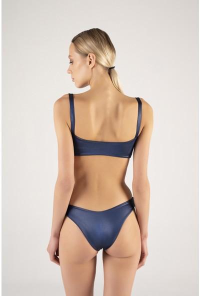 Shikoo Swimwear Kuş Gözlü Straplez Bikini
