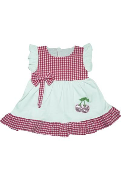 Suna Baby Kız Bebek Ekose Elbise