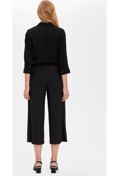 Defacto Kadın Beli Kemerli Pantolon