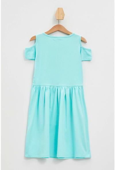Defacto Kız Çocuk Lol Lisanslı Elbise