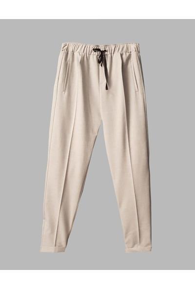 Coten Concept Kadın Beli Lastikli Jogger Pantolon