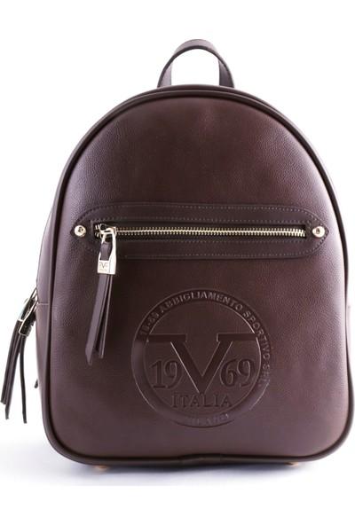 19V69 Italia Kahverengi Kadın Sırt Çanta