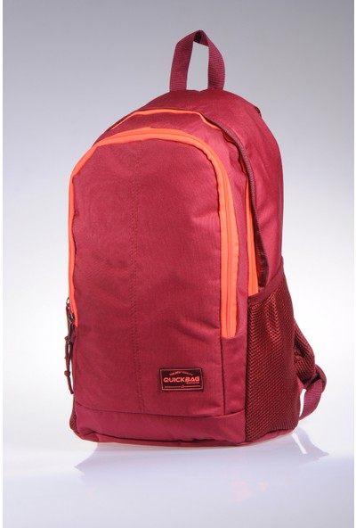 Quickbag Unisex Sırt Çantası Q47006 Bordo