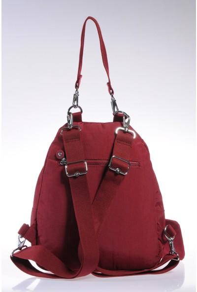 Smart Bags Sırt Ve Omuz Çantası Smb1169-0021 Bordo