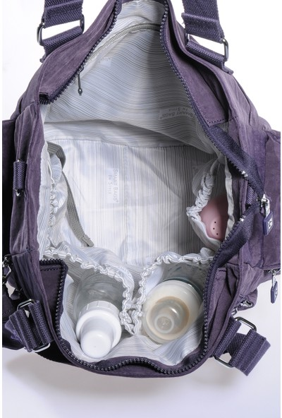 Smart Bags Bebek Bakım Çantası Smb1210-0027 N.Mor