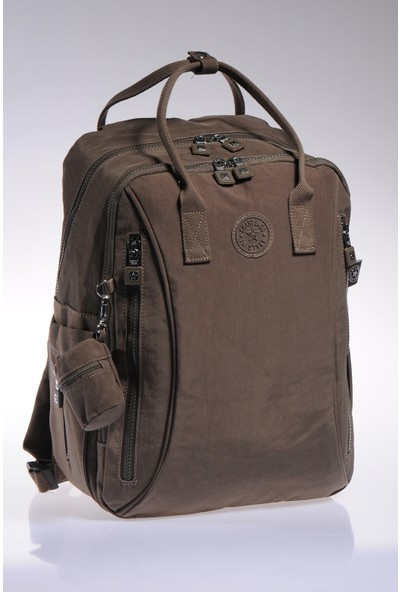 Smart Bags Bebek Bakım Sırt Çantası Smb1221-0006 Kahverengi