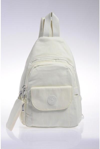Smart Bags Sırt Çantası Smb1237-0002 K.Beyaz