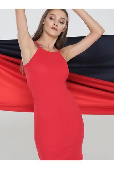 Graffin Kadın 201620 Kırmızı Elbise