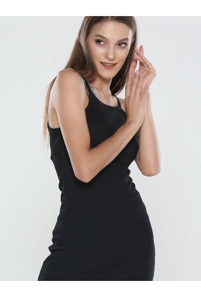 Graffin Kadın 201620 Siyah Elbise