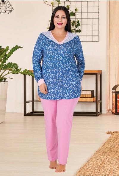 Lady Kadın Büyük Beden Pijama Takımı 174